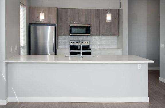 Joel floor plan, beautiful finishes, quartz countertops, modern backsplash