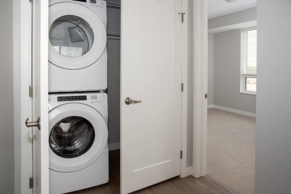 Marc 2 br, full size washer and dryer with added storage