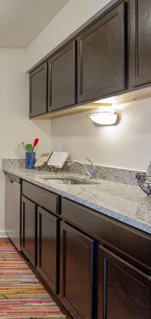 Twilight Upgrade Kitchen at Lakeside Village Apartments Clinton Township MI