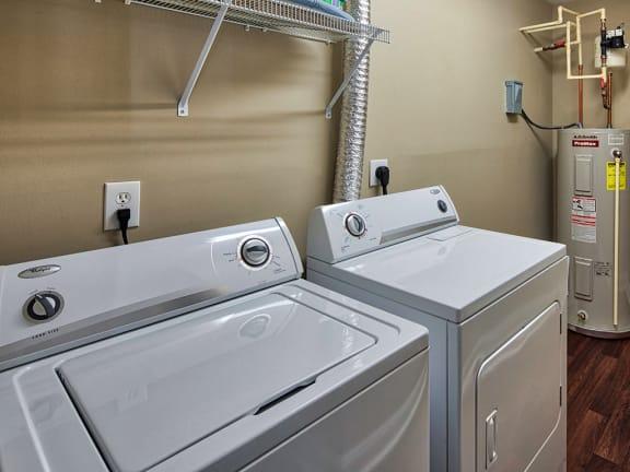 washer in apartment in Blacksburg VA