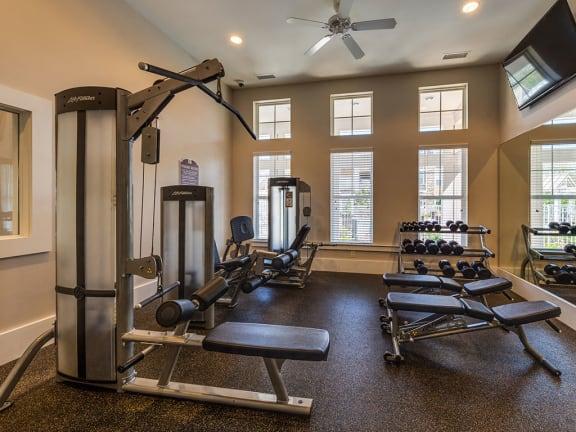 Gym at Pavilion Village, Charlotte, NC