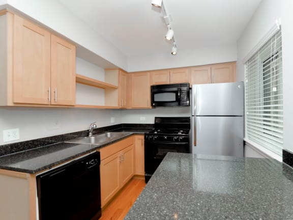 Updated Kitchens at Reside on Morse
