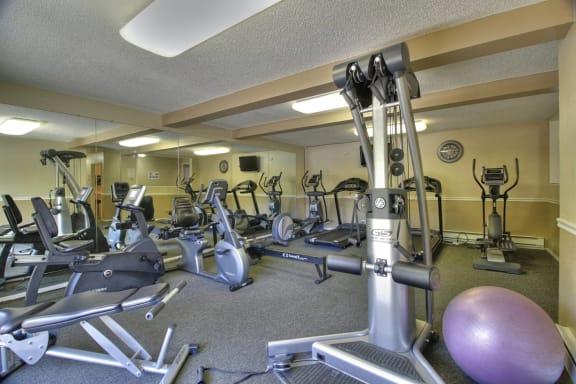 fitness center at Aviana Apartments