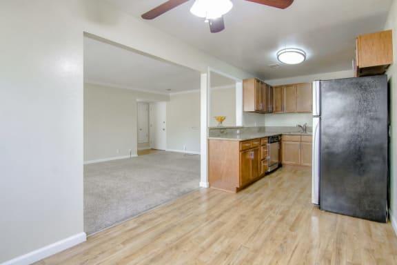 hardwood floors at Magnolia Place, Sunnyvale, CA
