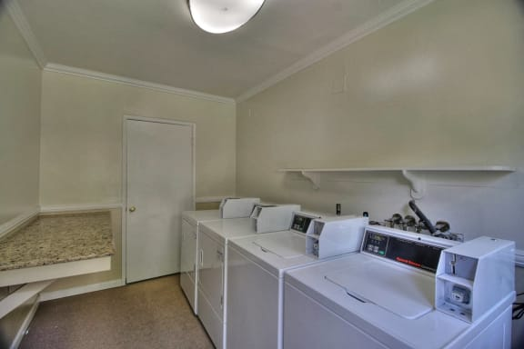 laundry facilities at Magnolia Place, Sunnyvale