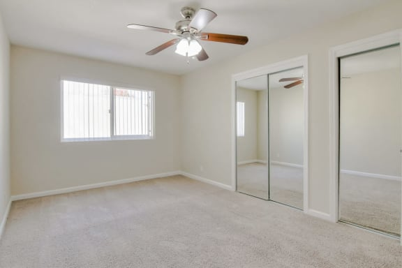 spacious closets at Magnolia Place, Sunnyvale, 94087