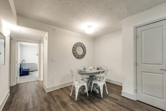 Bahia Cove Apartments Model Dining Room