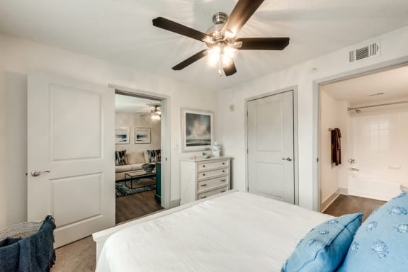 Bahia Cove Apartments Model Bedroom