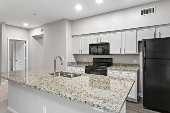 Updated, Well Lit Kitchens