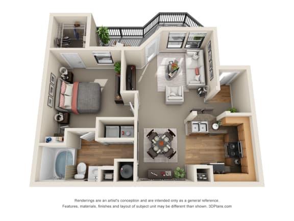 Azalea Floor Plan