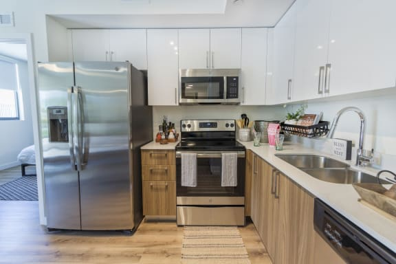 Stainless Steel Appliances at Bay Village1, Florida, 33157