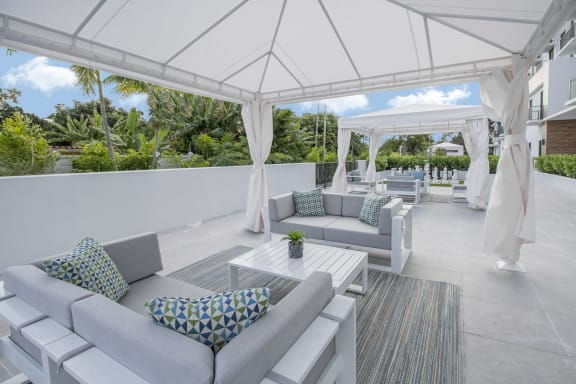 Cabana Area at Twenty2 West, West Miami, 33155