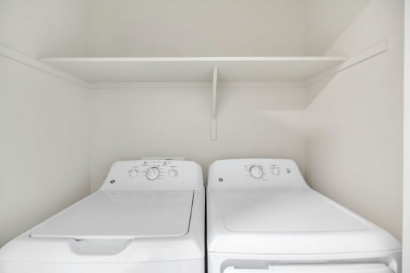 Full Sized Washer and Dryer at The Premiere at Eastmark Apartments, Mesa