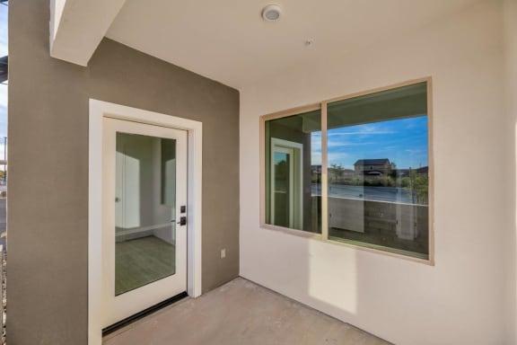 Personal Patio or Balcony at The Premiere at Eastmark Apartments, Mesa, Arizona