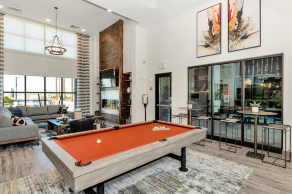 Billiards Table at Grayson Place Apartments, Goodyear