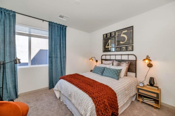 Well Appointed Bedroom at Grayson Place Apartments, Goodyear, AZ