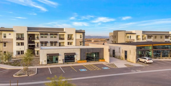 Resident Garages & Covered Parking at The Premiere at Eastmark Apartments, Arizona