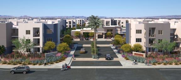 Community Front at Grayson Place Apartments, Goodyear, AZ 85395