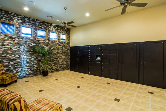 Secure Package Receiving Lockers at Apartments 89081