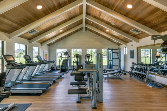 Brand New Apartments Near Portland OR with Resident Gym