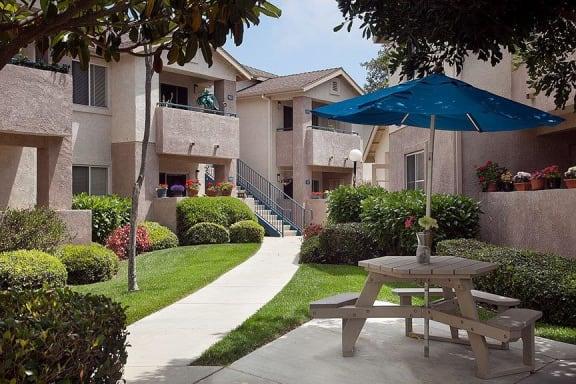 Appearance Of Main Entry To Apartments at Cypress Meadows Senior Apartments, California, 93003