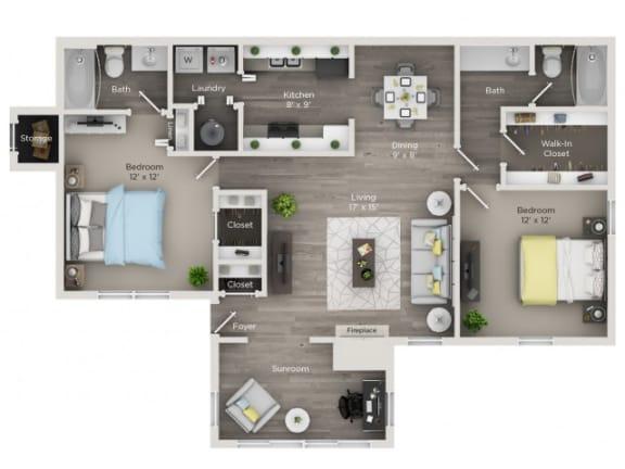 Floor Plan  Dogwood