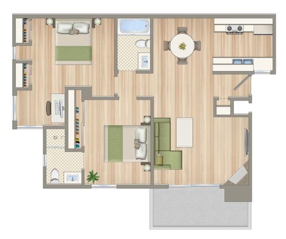 Floor Plan  21021_Van_Owen_unit_104