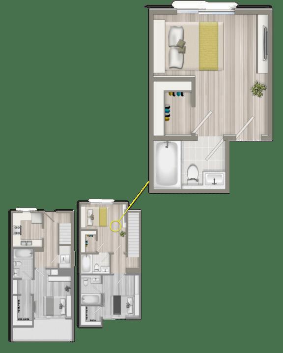 Floor Plan  Master Studio Suite