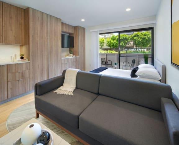 Floor Plan  Co-Living Junior Suite with Balcony