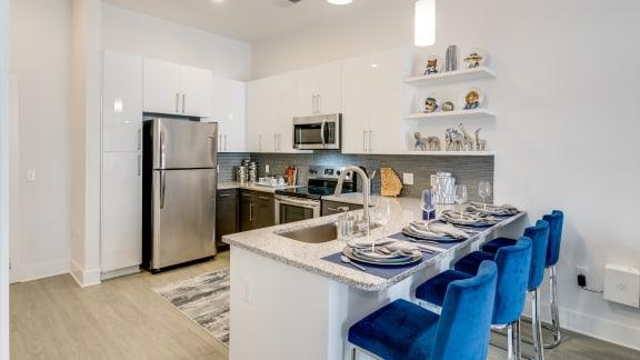 Granite Countertops at Link Apartments® Grant Park, Georgia, 30312