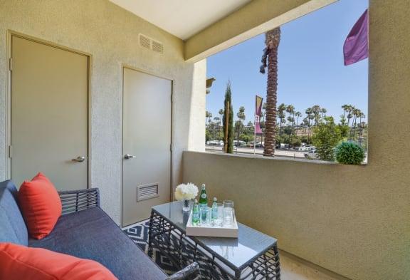 Private Patio/Balcony, at SETA, 7346 Parkway Dr, CA