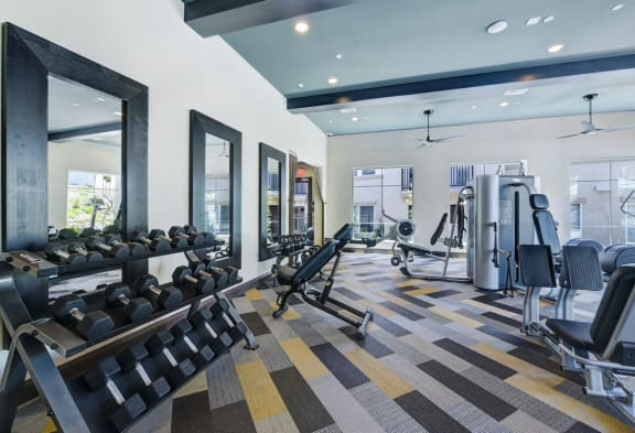 Fully Equipped Fitness Center, at SETA, La Mesa, CA