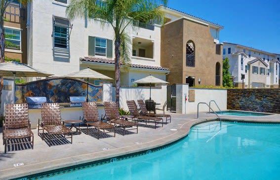 Pool Side Relaxing Area, at Rosina Vista, Chula Vista, 91913