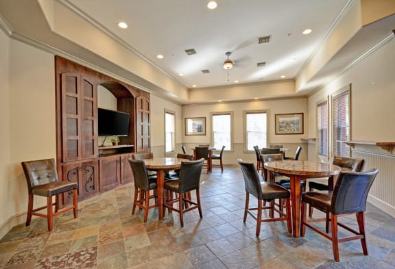 Newly Renovated Clubhouse, at Missions at Sunbow Apartments, Chula Vista, California