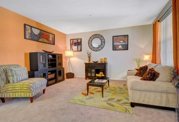 Modern Living Room at Greenfield Village, California, 92154