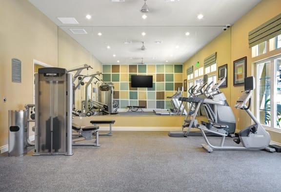 Professional-Grade Fitness Center, at Tavera, CA, 91913
