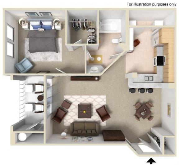 BALBOA Floor plan, at Terra Vista, California, 91913