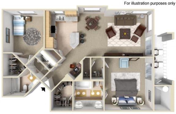 DEL MAR Floor plan, at Terra Vista, CA, 91913