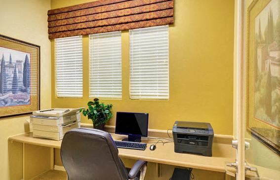 Business Center with High Speed Internet, at Terra Vista, California, 91913