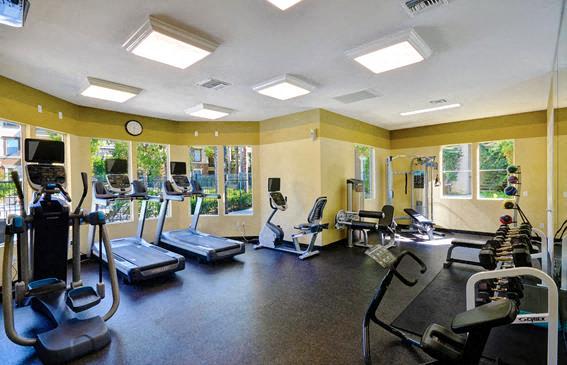 Cardio Equipment, at Terra Vista, Chula Vista, CA
