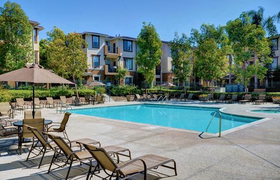 Pool Side Relaxing Area, at Terra Vista, 1441 Santa Lucia Rd