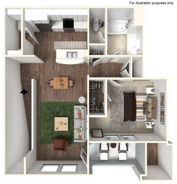 Floor Plan  A2 Floorplan