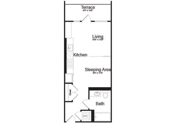 A6 Floorplan