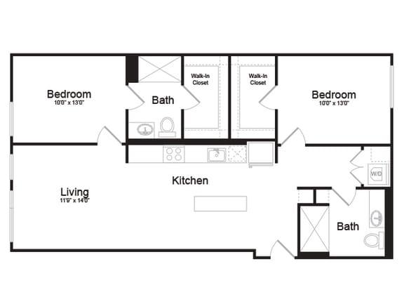 C2-1 Floorplan