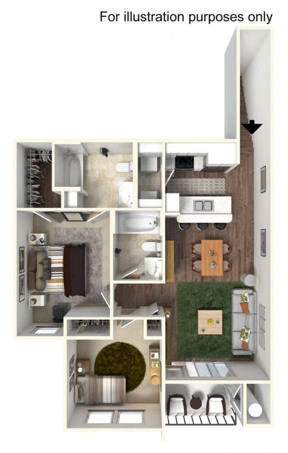 Floor Plan  B1 Floorplan