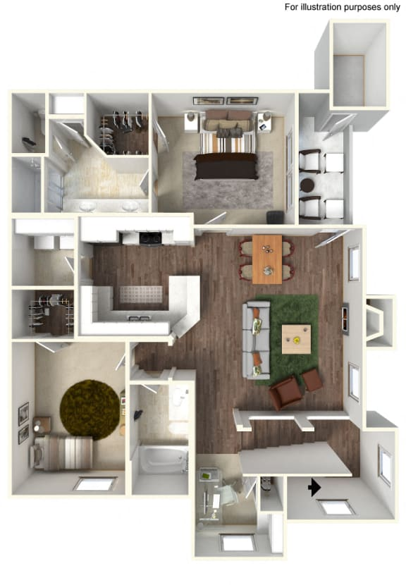 Floor Plan  B3 Floorplan