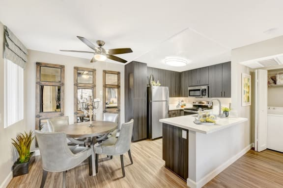 Well Equipped Kitchen And Dining at Altair, California, 92029
