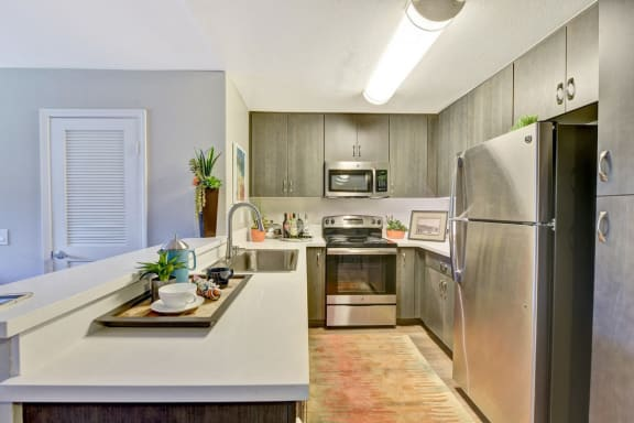 Stainless Steel Appliance Package Including Dishwasher, at Park Pointe, El Cajon, 92019