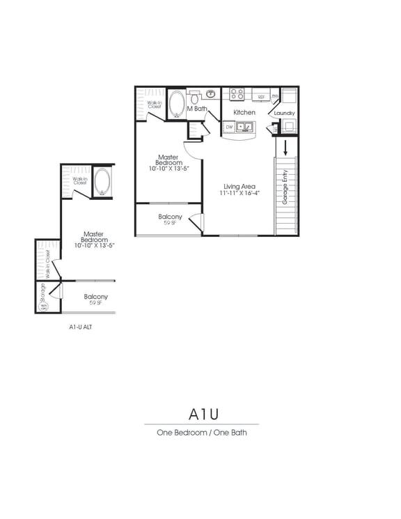 A1U Floorplan