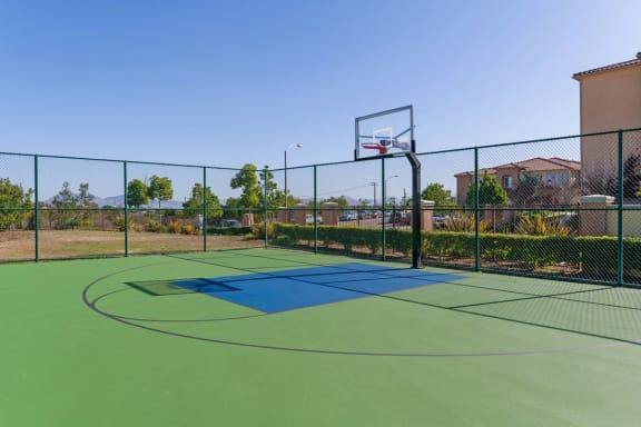 Tennis Court at Greenfield Village, San Diego, 92154